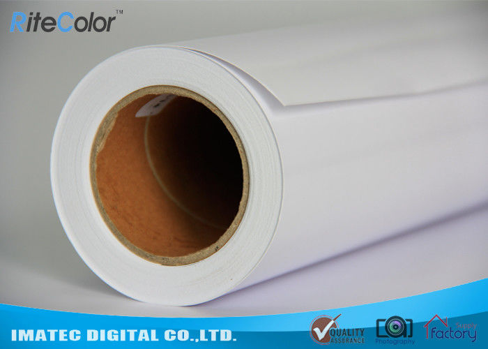 Clear Waterproof Inkjet Matte PP Synthetic Paper 8 Mil for Pigment Ink